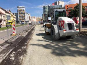 Rekonstrukce zastávky na Mariánském náměstí finišuje