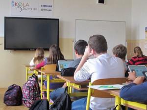 Základní škola Pohůrecká se rozšíří o nový pavilon. Žáci se dočkají odborných učeben