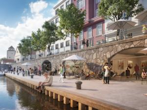 Upravit Zátkovovo nábřeží v centru Budějovic není složité, slibuje radnice