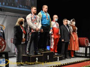 Budějcký strážník získal na mistrovství světa v silovém trojboji bronzovou medaili
