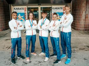 Mladí budějovičtí karatisté válí. Z ME ve Finsku přivezli hned tři medaile