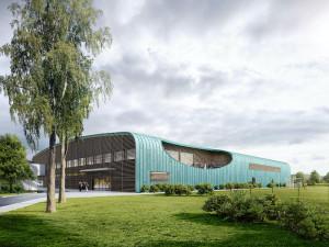 Hluboká bude mít nový hokejový stadion. U příprav byli i hráči NHL