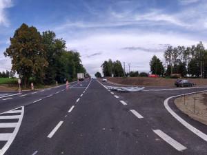 ŘSD zprovozní část silnice I/3 ve Velešíně, kde se předělávala křižovatka