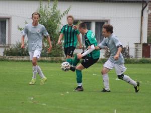 OKRESNÍ PŘEBOR: Borek poprvé prohrál, dobrovodský Serbin dal čtyři góly