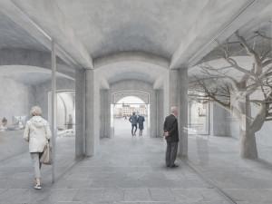 Dům umění bude mít pod střechou vyhlídku na náměstí. Práce začnou příští rok