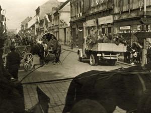 DRBNA HISTORIČKA: Rudolfovská, 9. května 1945
