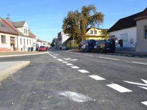 Jindřichův Hradec investoval do opravy Václavské ulice 45 milionů korun