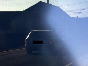 Nepřipoutaný muž jel v obci rychlostí 167 kilometrů za hodinu