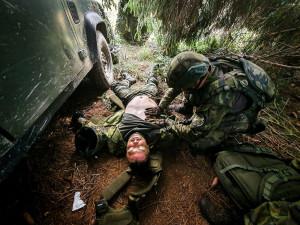 Nejhorší je déšť, před ním se neschováte, říká voják po dalším cvičení v Boleticích