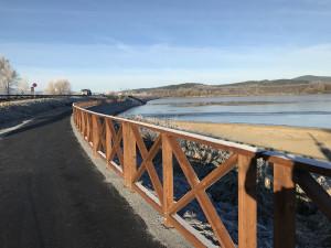 Černá v Pošumaví dostala cenu za cyklostezku u přehrady. Stála 43 milionů