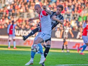 Dynamo doma proti Slavii vybojovalo bod. Trefili se Brandner a Havel