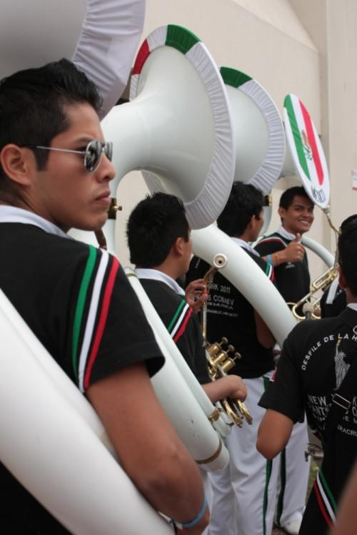 Veracruz - defilé místních hudebníků