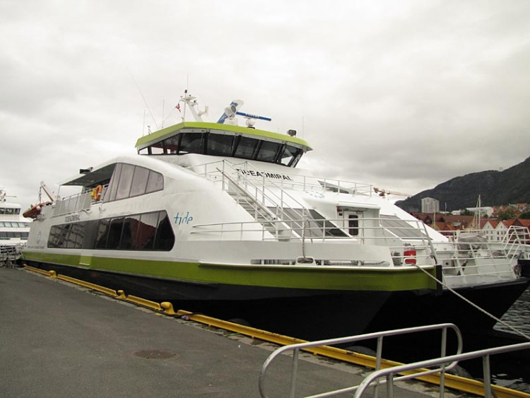 Epizoda 2 - Preikestolen: Loď na cestu z Bergenu