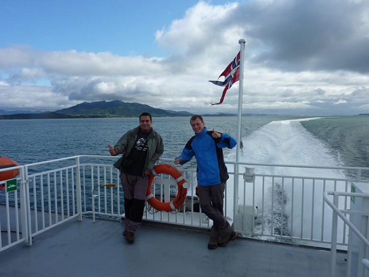 Epizoda 2 - Preikestolen: Honza a Jarda na lodi do Stavangeru