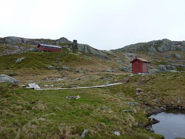 Epizoda 4 - Manafossen: Pohled na záchytnou chatu Langavaten