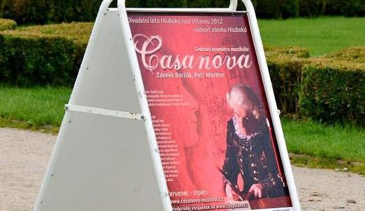 Premiéra muzikálu Casanova v pátek 6. července 2012
