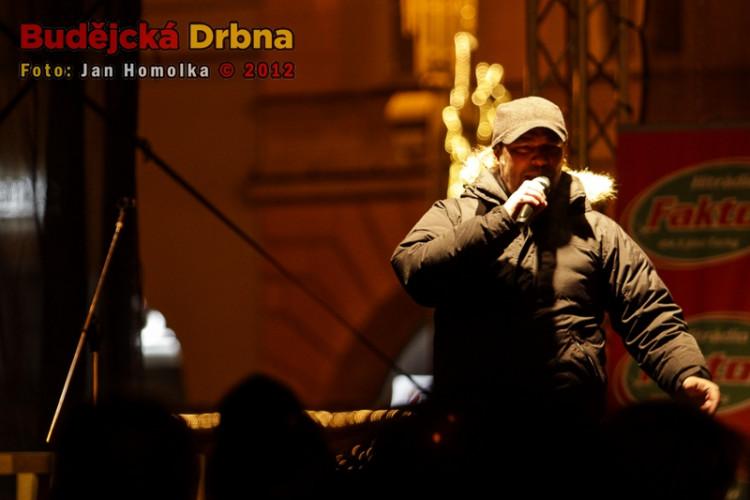 Koncert Petra Koláře při Budějovickém adventu 2012