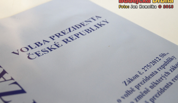 Volba prezidenta České republiky v Budějcích