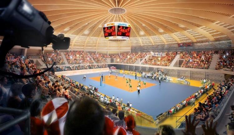 Vítězný návrh Centra halových sportů