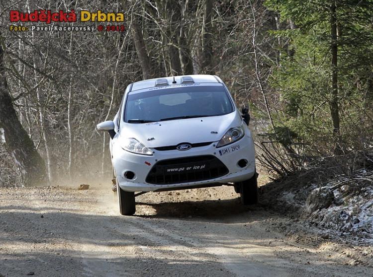 Testování Martina Kočiho před Portugalskou rallye 2013
