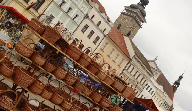 Jarní trhy na náměstí Přemysla Otakara II.