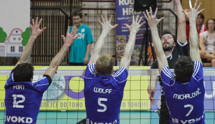 1. finále volejbalové extraligy: Jihostroj vs. Ostrava