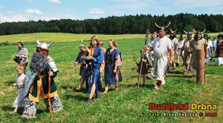 Malí i velcí si na jeden den oblékli keltské obleky