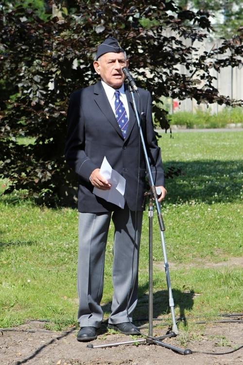 Zdeněk Hruška, předseda jednoty Strakonice Československé obce legionářské