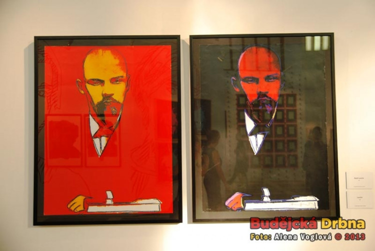 Red and Black Lenin