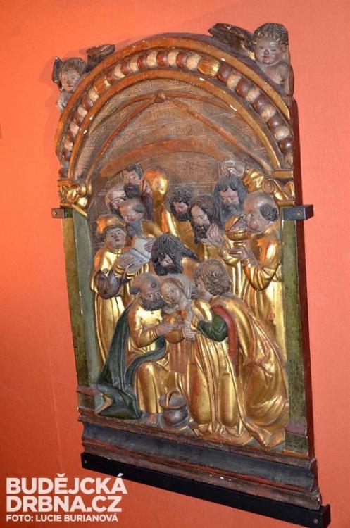 Gotická dřevořezba
