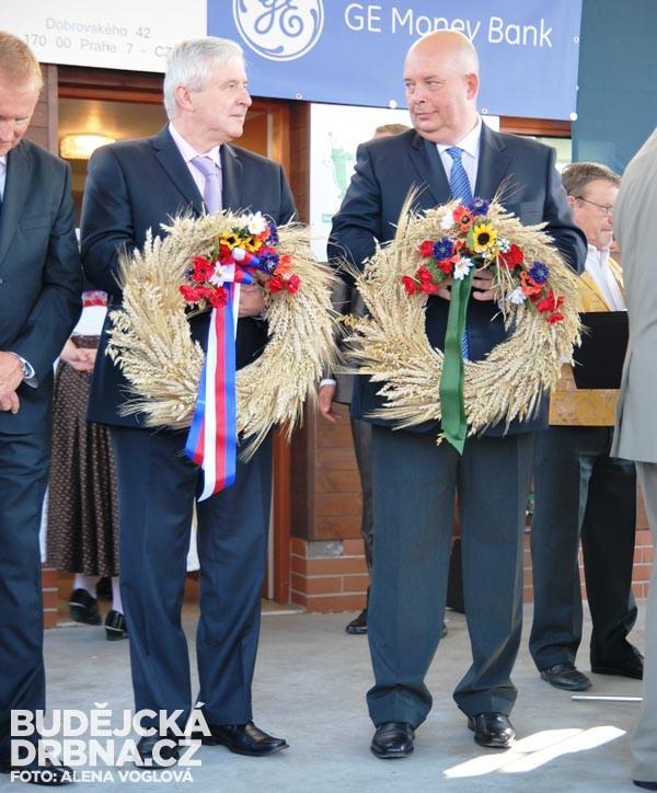 Miroslav Toman a Jiří Rusnok (zprava)