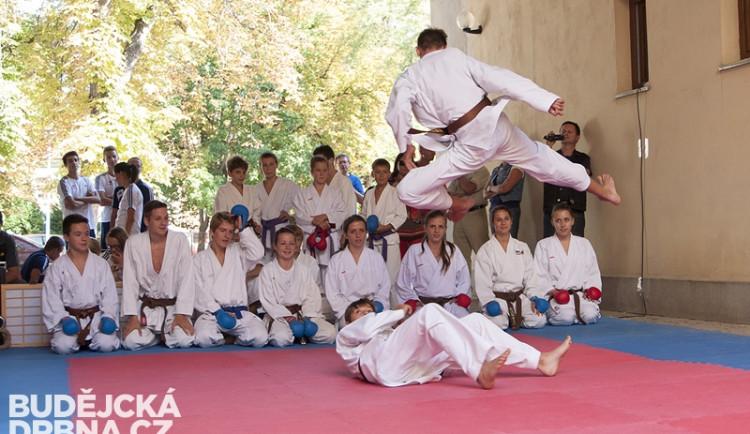 Oslava 40 let karate v Českých Budějovicích