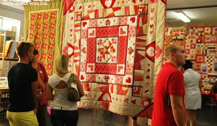 Výstava jihočeských patchworkářek