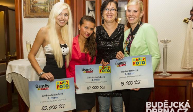 Vítězky soutěže Úsměv HappyFoto na jihu Čech