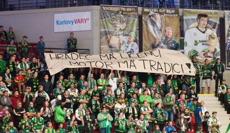 Fankluby z hokejové extraligy podporují Motor