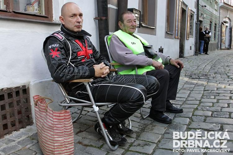 Natáčení nového videoklipu Daniela Landy v Českém Krumlově