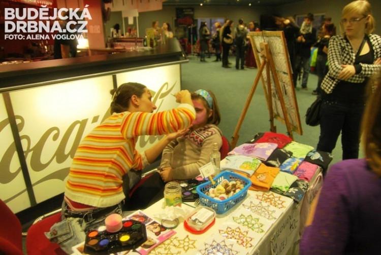 Malování na obličej děti zbožňují