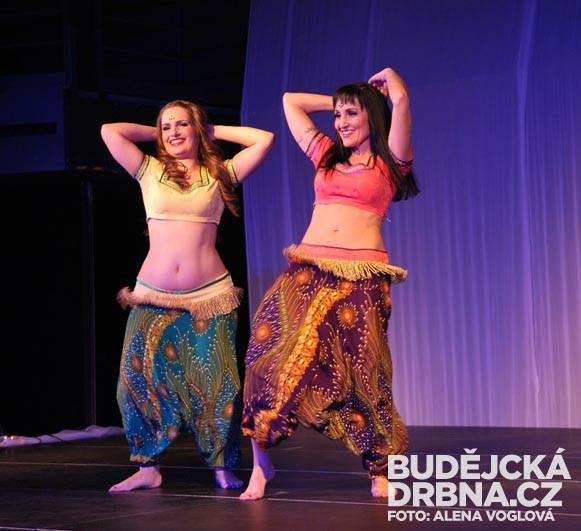Rozverný tanec zaujal publikum