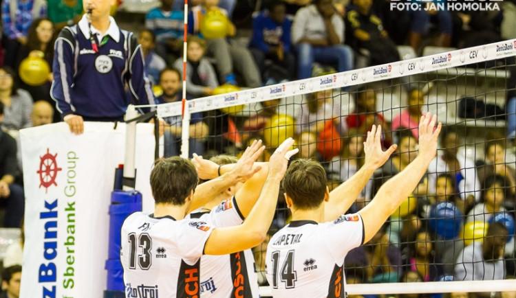 FOTOREPORT: Paris Volley vs. Jihostroj
