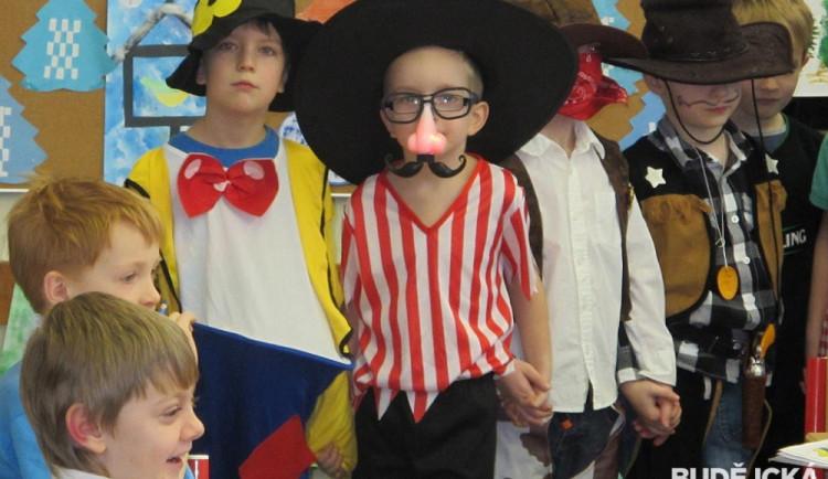 Maškarní karneval na Základní škole Máj I
