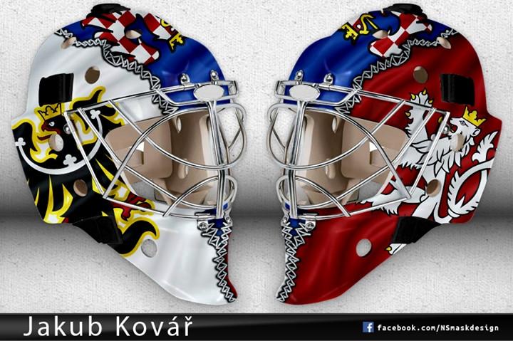Olympijská maska Jakuba Kováře