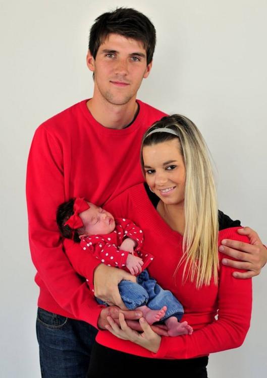 S mojí milovanou rodinkou. Soutěží Pavlína Kolafová