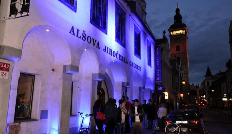 Galerijní noc v Českých Budějovicích