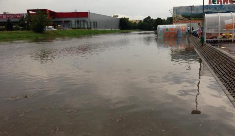 Následky červencového přívalového deště