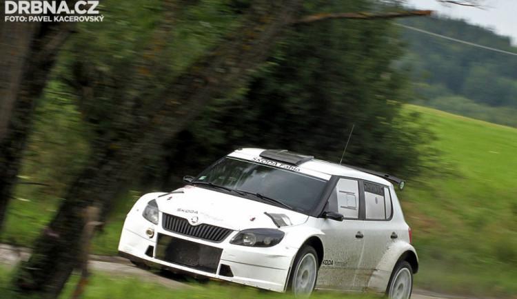 Testování továrního týmu Škoda Motorsport