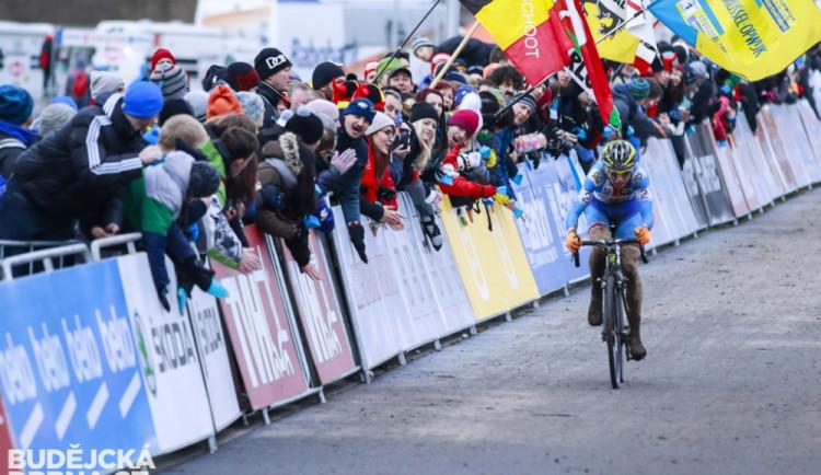 Světový šampionát cyklokrosařů v Táboře
