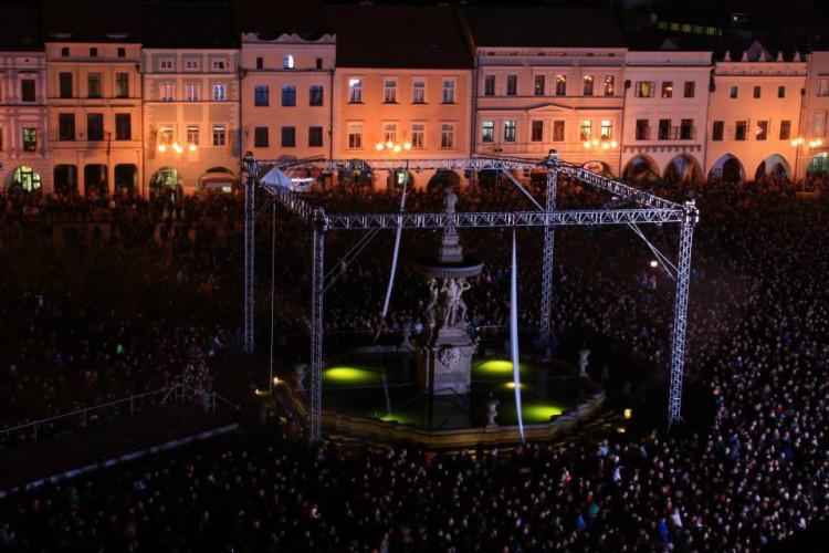 Oslavy založení Českých Budějovic. Foto: Adéla Jupová