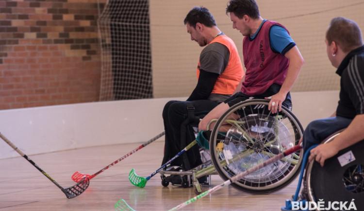 Soustředění florbalové reprezentace vozíčkářů