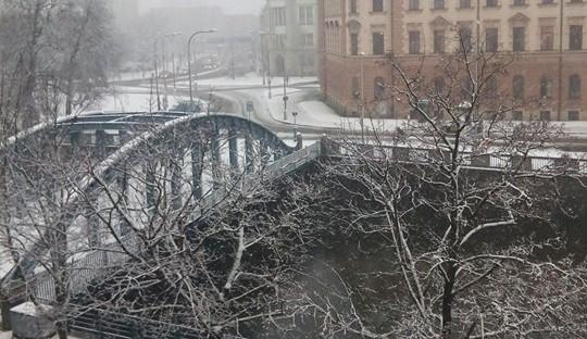 Jaro se blíží, ale zima ještě ukazuje svou sílu