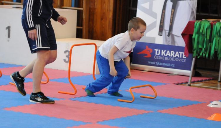 TJ Karate připravila soutěž pro přípravky